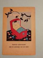 (K4) Illustratrice Willy Schermelé : Série B.B. N° 105 Bébé Dans Son Berceau - Schermele, Willy