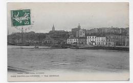 BOURG SUR GIRONDE EN 1911 - N° 1212 - VUE GENERALE - CPA VOYAGEE - Other Municipalities