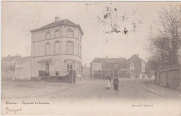 Vilvoorde - Leuvensestraat (Decrée) (gelopen Kaart Van Voor 1900 Met Zegel) - Vilvoorde
