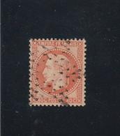 N° 31b -  ETOILE DE PARIS ÉVIDÉE -REF 5609 - RARE - 1863-1870 Napoleon III With Laurels
