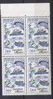 N° 2193 Série Touristique: Saint-Pierre Et Miquelon: Beau Bloc De 4 Timbres Neuf Impeccable Sans Charnière - Unused Stamps