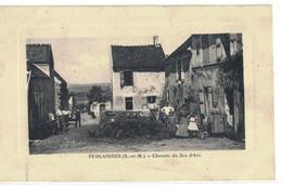 CPA  FUBLAISNES   Chemin Du Jeu D'Arc - Altri Comuni