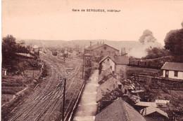 76 - Seine Maritime -  Interieur De La Gare De SERQUEUX - Andere Gemeenten