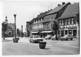 Audi 100,Wartburg 311,353 Kombi,Trabant P60,Coswig,Ernst-Thälmann-Straße, Ungelaufen - Passenger Cars