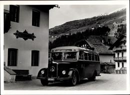 CPA Mercedes Benz Diesel Aussichtswagen, Autobus, Reklame - Unclassified