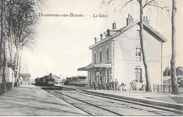 A/278          03       Dompierre Sur Besbre           La Gare  -  Arrivée Du Train - Other Municipalities