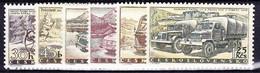 ** Tchécoslovaquie 1958 Mi 1109-14 (Yv 994-9), (MNH) - Ungebraucht