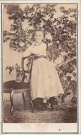 Photo CDV N° 54 De 1868 - Enfant Communion -  Photographe Montaut Et Soeur Oloron Ste Marie Basses Pyrénées - Old (before 1900)