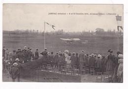 Jolie CPA Jarnac (Charente) Aviation, 9-10 Octobre 1910, Aviateur Gilbert « L'Envolée », L. Lebon éditeur - Meetings
