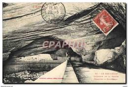 """CPA Le Mas D&#39Azil Interieur De La Grotte Eclairee Au Magnesium"""" - Zonder Classificatie"""