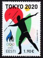 Estonia - 2021 - Summer Olympic Games In Tokyo - Mint Stamp - Estonia