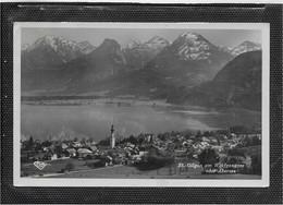 AK 0747  St. Gilgen Mit Rettenkogel , Sparber , Rimkogel & Pleckwand Um 1950 - St. Gilgen