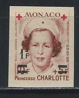 MC4-/-406- N° 379B, CROIX ROUGE  1951,  * *, COTE 21.00 €, IMAGE DU VERSO SUR DEMANDE - Unused Stamps