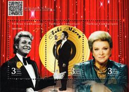 Turkey - 2021 - Zeki Muren, Famous Turkish Singer - Mint Souvenir Sheet - Nuovi