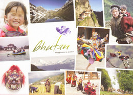 Bhutan Around 2010 - 2015 Postcard Issued By The Tourism Council Of Bhutan - Bhutan