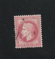 """N° 32 -  ETOILE DE PARIS """"1""""  Bureau PLACE DE LA BOURSE -REF 5609 +Variété - 1863-1870 Napoleon III With Laurels"""