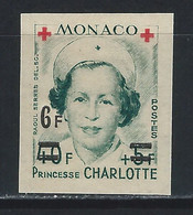 MC4-/-189- N° 382B, CROIX ROUGE  1951,  * *, COTE 21.00 €, IMAGE DU VERSO SUR DEMANDE - Unused Stamps