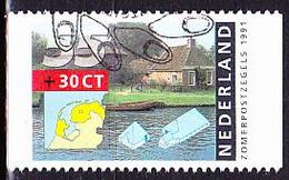 Niederlande Netherlands Pays-Bas - Einzelmarken Aus MH (MiNr: 1403 C) Bzw. (NVPH: 302) 1990 - Gest Used Obl - Booklets
