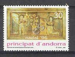 Andorra - 1996, Navidad Ed 255 - Ungebraucht