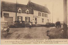 Tardinghen  62  Pres De Wissant Café-Restaurant (Au Crèpes Et Beignets) Omelette Au Lard Rue Tres Animée-Nombreuse Voitu - Other Municipalities