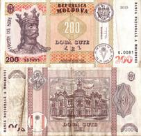 Moldova / 200 Lei / 2015 / P-26(a) / VF - Moldova