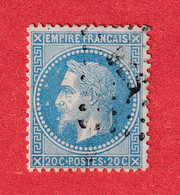 N°29 Bc VARIETE AUX ABEILLES SIGNE JAMET - 1863-1870 Napoleon III With Laurels