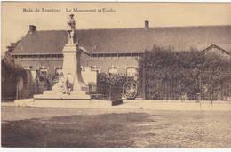48418 -   Bois-de-Lessines  Le  Monument  Et écoles - Lessines