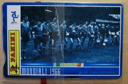 SCHEDE TELEFONICHE PASSIONE MONDIALE 1966 - Collezioni