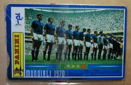 SCHEDE TELEFONICHE PASSIONE MONDIALE 1970 - Collezioni