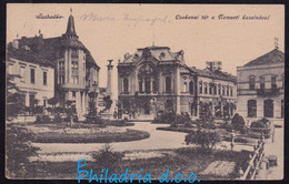 Subotica, Mailed 1918, Zemun-Budapest Railway TPO - Serbia