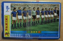 SCHEDE TELEFONICHE PASSIONE MONDIALE 1974 - Collezioni