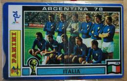SCHEDE TELEFONICHE PASSIONE MONDIALE 1978 - Collezioni