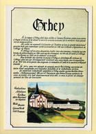 68. ORBEY (carte Tirée D'un Tableau Touristique) (voir Scan Recto/verso) - Orbey