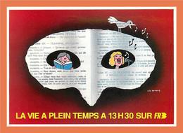 A164 / 649 Leo KOUPER - La Vie à Plein Temps Sur FR3 ( Vignette ) 4000 Ex. - Unclassified