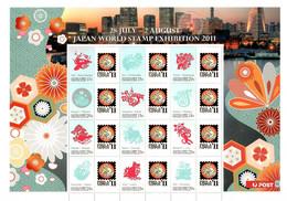 Australien / Christmas Island 2011 ,Year Of The Rabbit - Japan World Stamp Exhibition - Postfrisch / MNH / (**) - Christmas Island