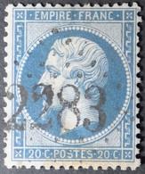 22 Obl GC 2283 Maussanne (12 Bouches Du Rhone ) Ind 8 ; Frappe Très Nette & Centrée - 1849-1876: Classic Period