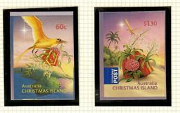 Australien / Christmas Island  2010  Mi.Nr. 687/ 688 , Christmas / Weihnachten - Self-adhesive - Postfrisch / MNH / (**) - Christmas Island