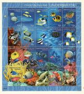 Australien / Christmas Island  2004  M.Nr. 531 / 550 , Underwater - Postfrisch / MNH / (**) - Christmaseiland