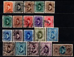 EGITTO - 1927 - King Fuad - USATI - Used Stamps