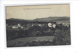 DEP. 83 CAVALAIRE QUARTIER DE LA GARE ET COLLINES DE LA CROIX - Cavalaire-sur-Mer