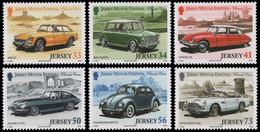 Jersey 2005 - Mi-Nr. 1181-1186 ** - MNH - Autos / Cars - Jersey