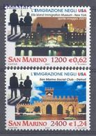 San Marino 2001 Mi 1952-1953 MNH  (ZE2 SMR1952-1953) - Monuments