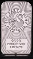 BARRE CYGNE FINE SILVER 999 / 1oz / AUSTRALIA THE PERTH MINT 31g ENVIRON NEUVE - Sin Clasificación