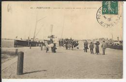 Port Louis Arrivée Du Vapeur De Groix Leport Tudy - Port Louis