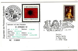 49042 - Ballonpost  D - ERGEE VI - Per Palloni