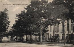 63    PONT DU CHATEAU     CPA      Avenue Du Pont - Pont Du Chateau