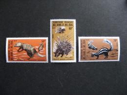 Afars Et Issas: TB Série N° 397 Au N° 399, Neufs XX. - Unused Stamps