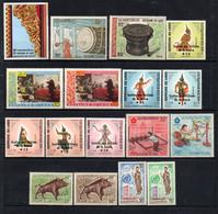 W-16 Laos Année Complète 1970  **  A Saisir !!! - Laos