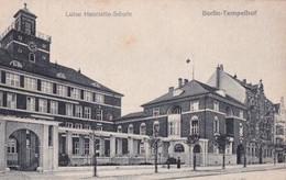 BERLIN TEMPELHOF             LUISE HENRIETTE SCHULE           + CACHET  MISSION MILITAIRE DE RAPATRIEMENT .... - Tempelhof