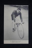 SPORTS - Carte Postale Cyclisme - Poulain - Sprinter Français - Champion Du Monde 1905 - L 101038 - Wielrennen